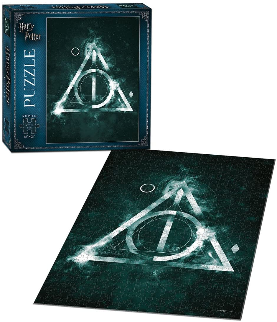 Harry Potter Deathly Hallow Puzzle 550pc