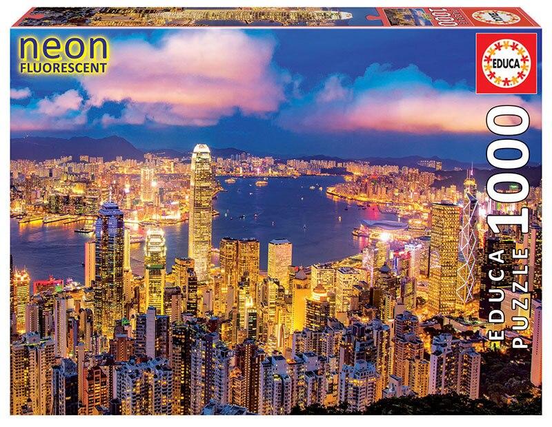 """Pusle """"Hong Kong Skyline, Neon"""" 1000 tk"""