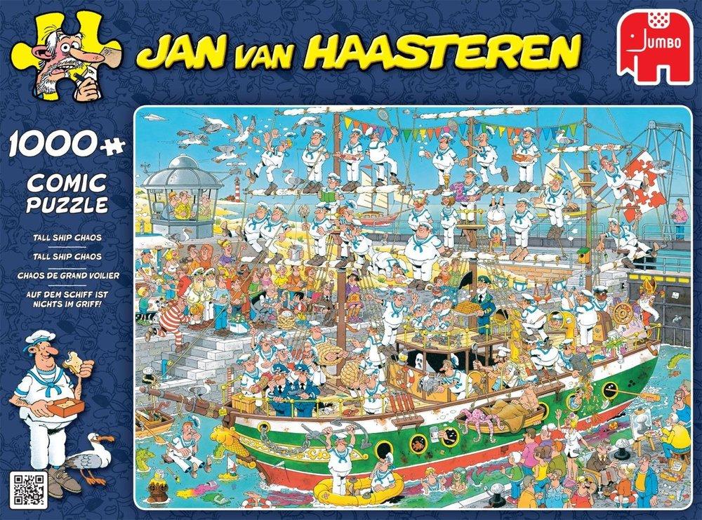 Pusle ''JAN VAN HAASTEREN, Tall Ship Chaos'' 1000tk