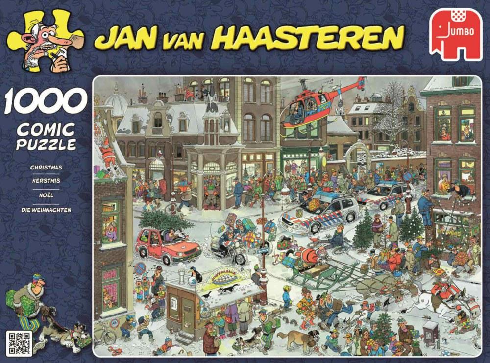"""Pusle """"Jan van Haasteren – Christmas"""" 1000 tk"""