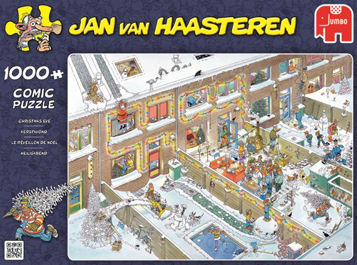 """Pusle """"Jan van Haasteren – Christmas Eve"""" 1000 tk"""