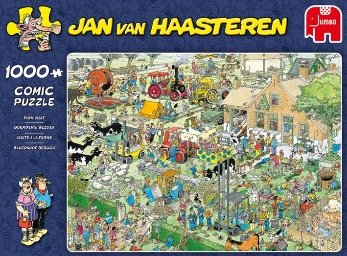 """Pusle """"Jan van Haasteren – Farm Visit"""" 1000 tk"""