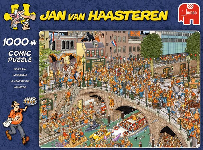 """Pusle """"Jan van Haasteren – Kings Day"""" 1000 tk"""