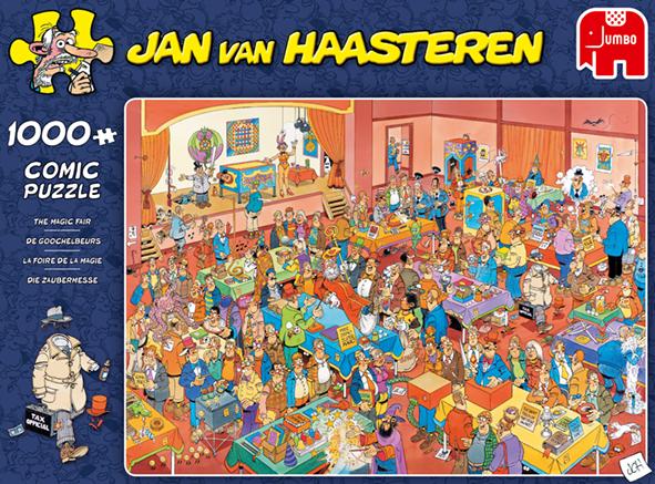 """Pusle """"Jan van Haasteren – Magic Fair"""" 1000 tk"""