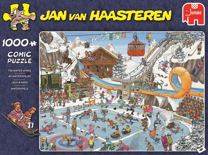 """Pusle """"Jan van Haasteren – Winter Games"""" 1000 tk"""