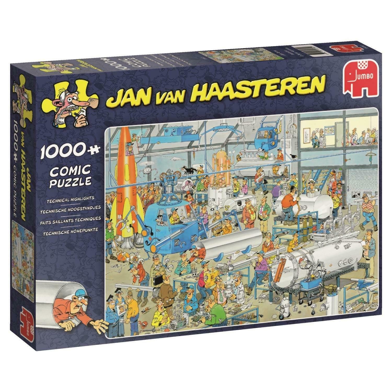 Pusle ''Jan van Haasteren -Technical Highlights'' -1000tk