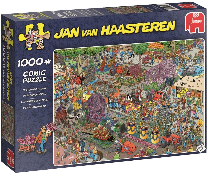 Pusle ''Jan van Haasteren - Flower Parade'' - 1000tk