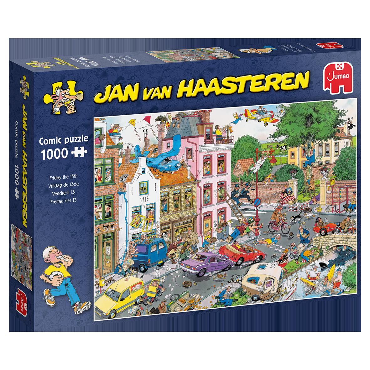 Pusle ''Jan van Haasteren - Friday the 13th'' - 1000tk