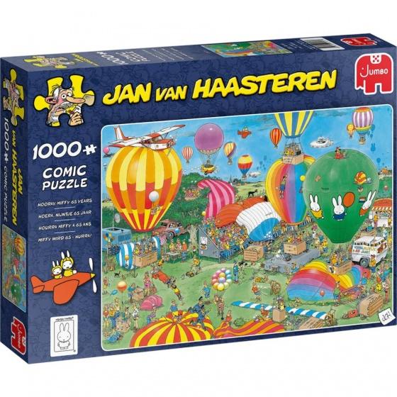 Pusle ''Jan van Haasteren - Hooray, Miffy 65 years'' -1000tk