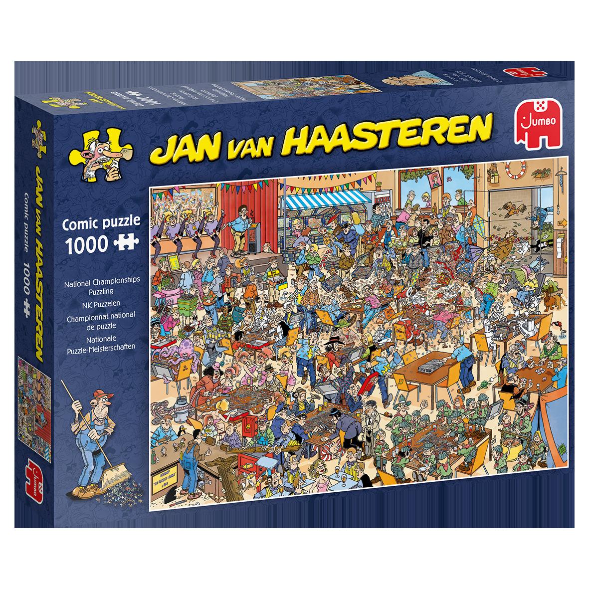 Pusle ''Jan van Haasteren - National Championships Puzzling'' - 1000tk