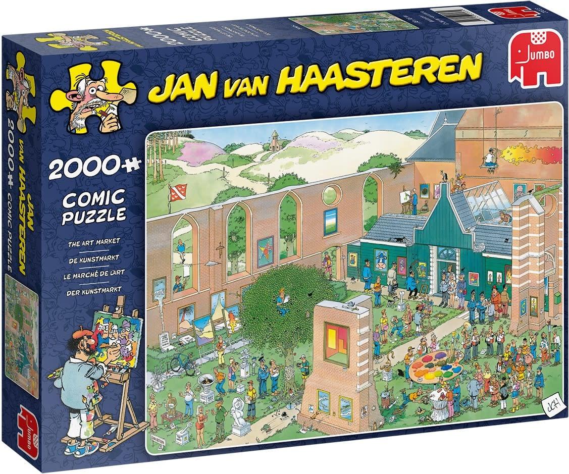 Pusle ''Jan van Haasteren - The Art Market'' - 2000tk
