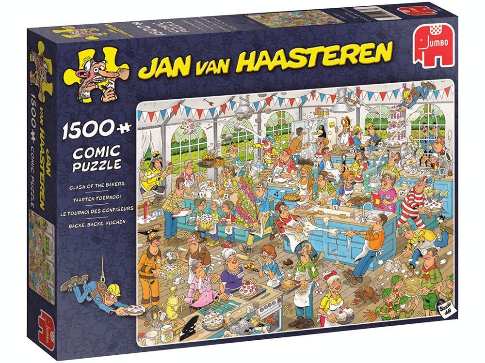 Pusle ''Jan van Haasteren - The Clash of the Bakers'' - 1500tk