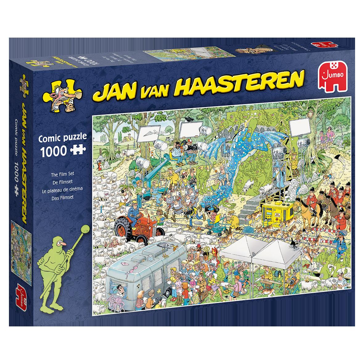 Pusle ''Jan van Haasteren - The Film Set'' - 1000tk