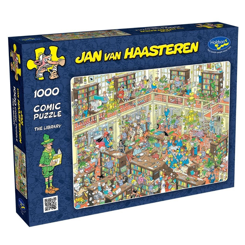 Pusle ''Jan van Haasteren - The Library'' - 1000tk