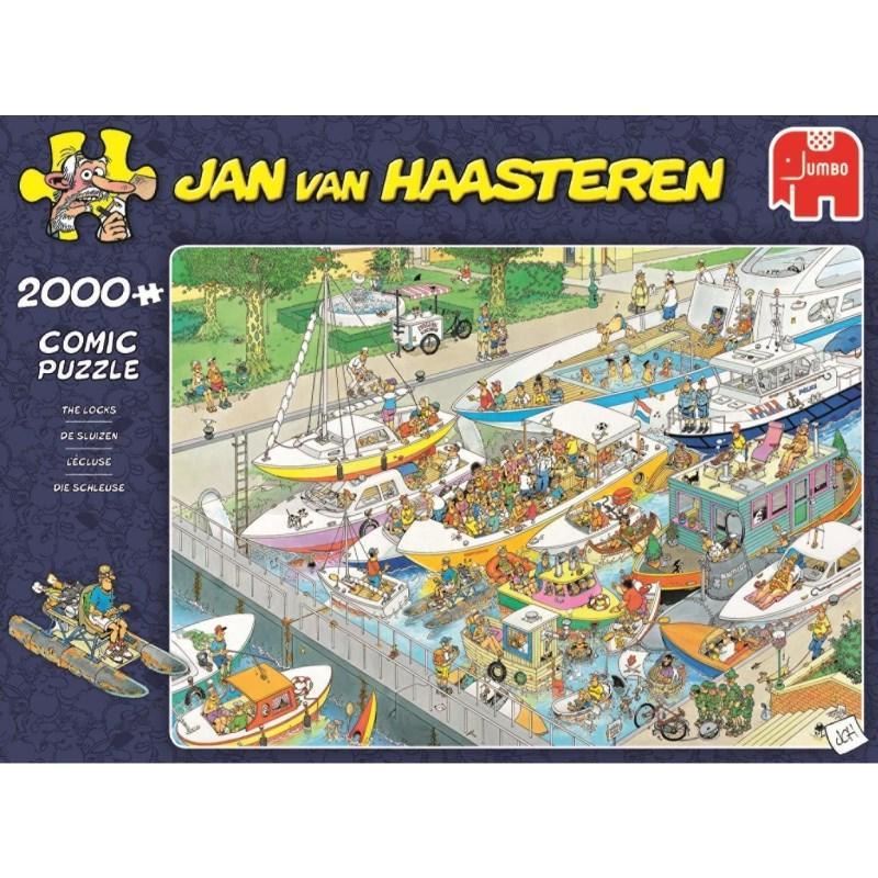 Pusle ''Jan van Haasteren - The Locks'' - 2000tk