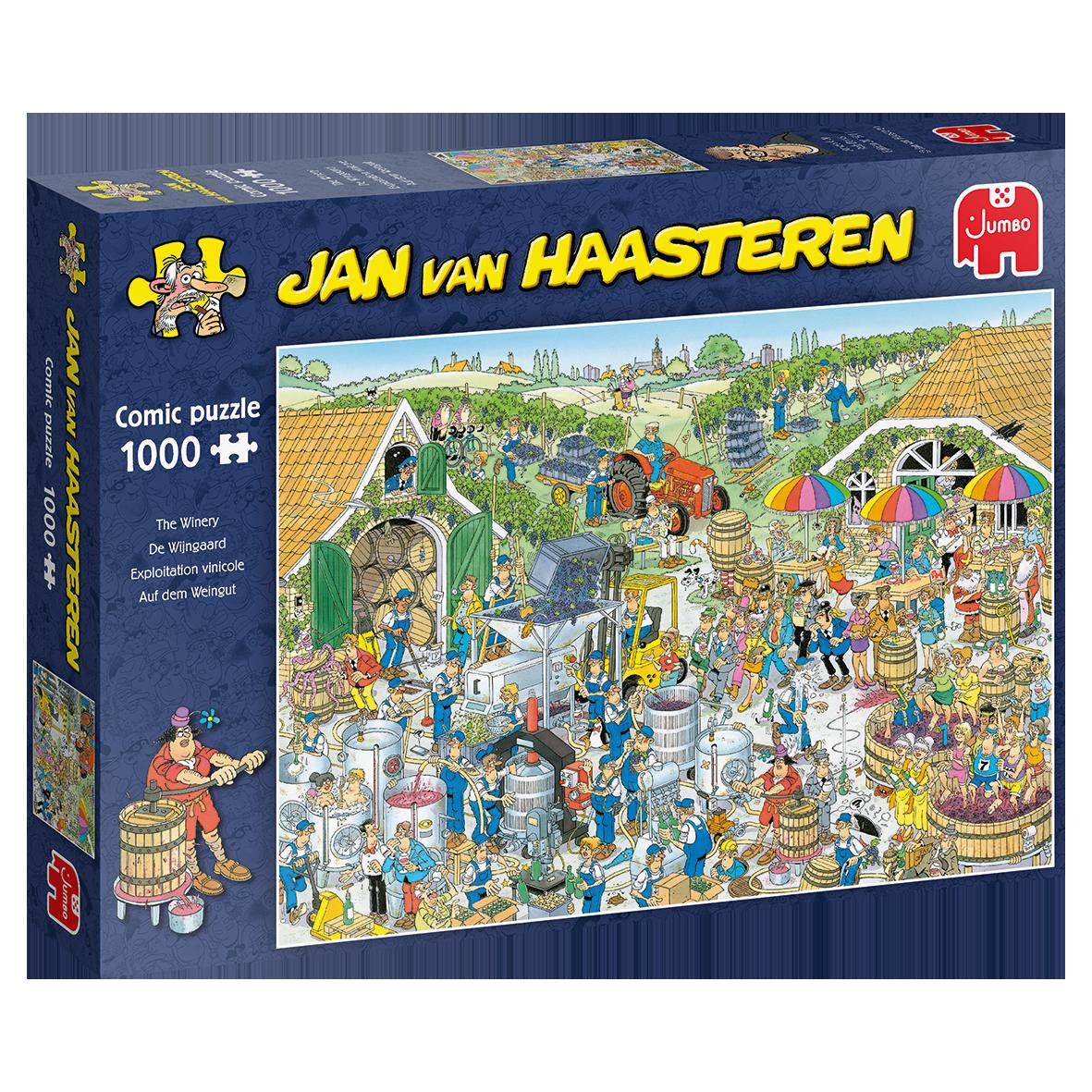 Pusle ''Jan van Haasteren - The Winery'' - 1000tk
