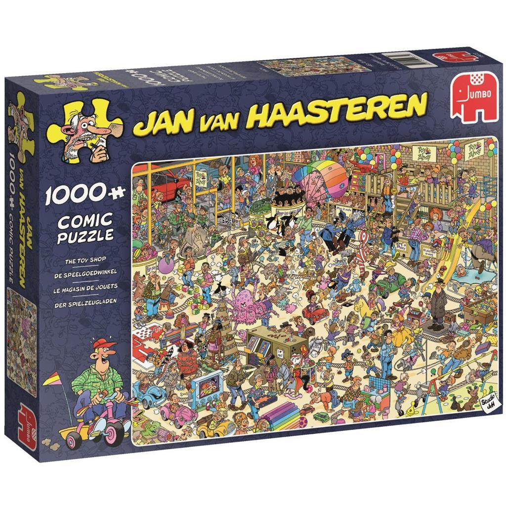 Pusle ''Jan van Haasteren - Toy Shop'' - 1000tk