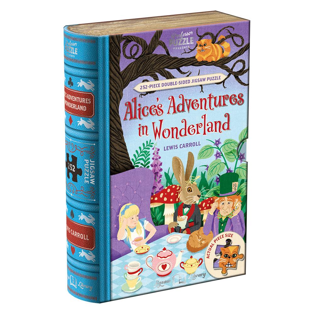 "Pusle Jigsaw Library ""Alice In Wonderland"""