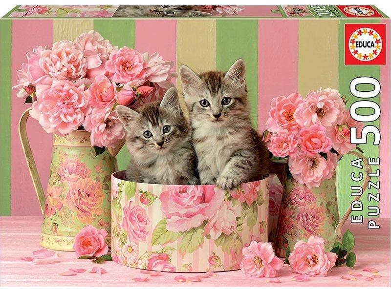 """Pusle """"KITTENS IN ROSES"""" 500 tk"""
