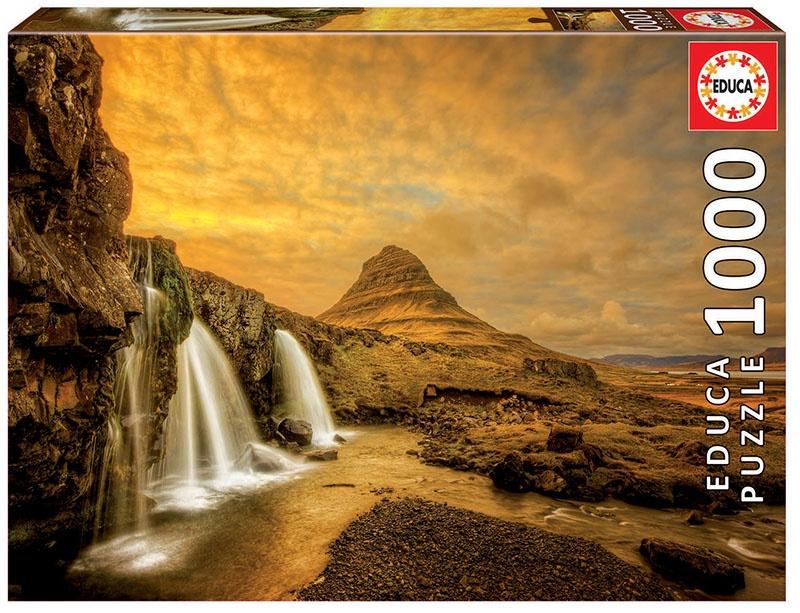 "Pusle ""Kirkjufellsfoss Waterfall, Iceland"" 1000 tk"