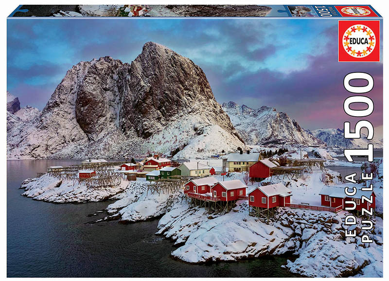 "Pusle ""LOFOTEN ISLAND, NORWAY"" 1500 tk"