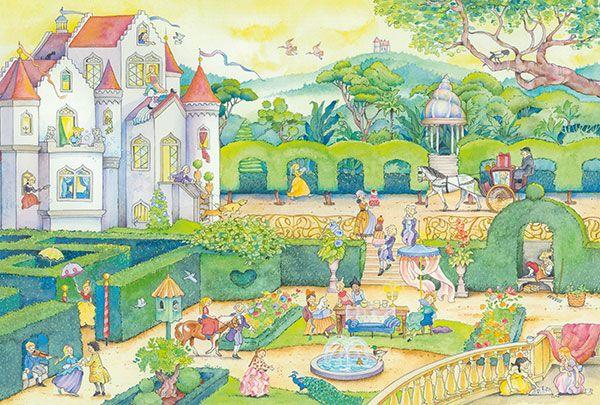 Life with the fairytale princesses (adhe