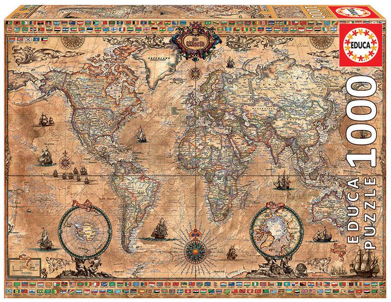 Pusle ''Maakaart antiik'' 1000tk