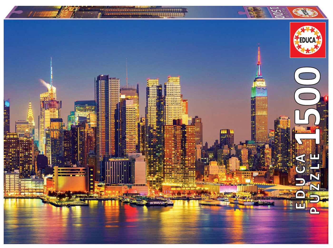 "Pusle ""Manhattan at night"" 1500 tk"