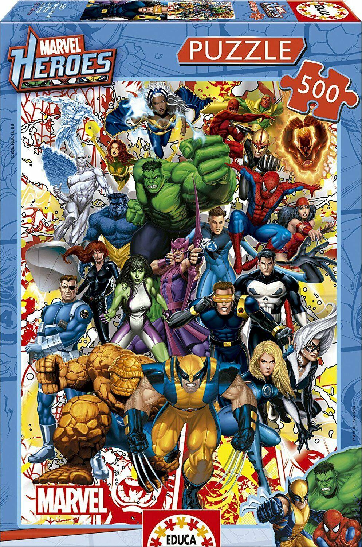 """Pusle """"Marvel Heroes"""" 500 tk"""