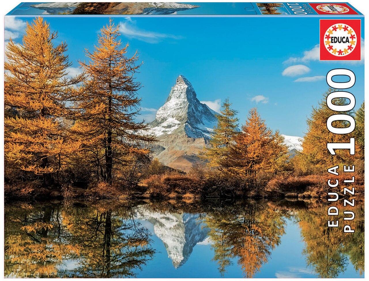 """Pusle """"Matterhorn Mountain in Autumn"""" 1000 tk"""