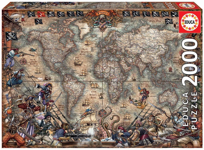 """Pusle """"PIRATE MAP"""" 2000 tk"""