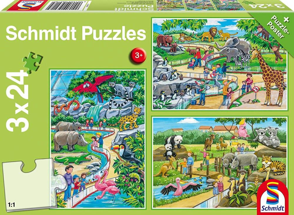 Pusle ''Päev loomaaias'' 3x24tk