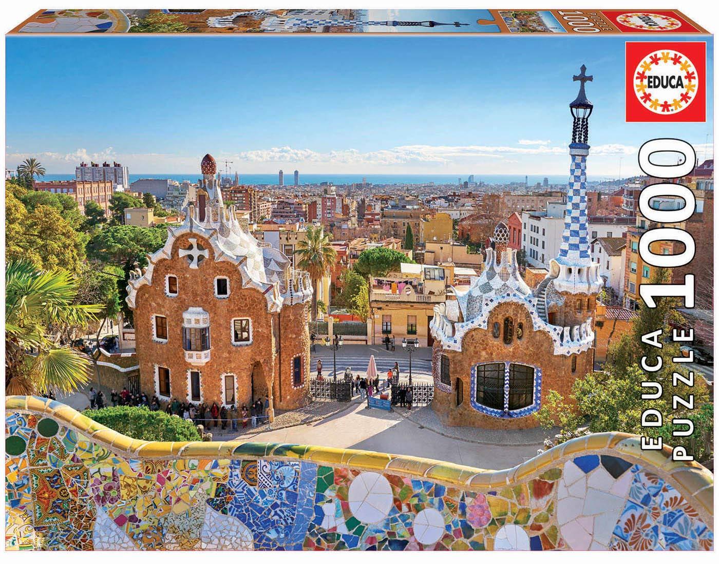 "Pusle ""Park Guell, Barcelona"" 1000 tk"