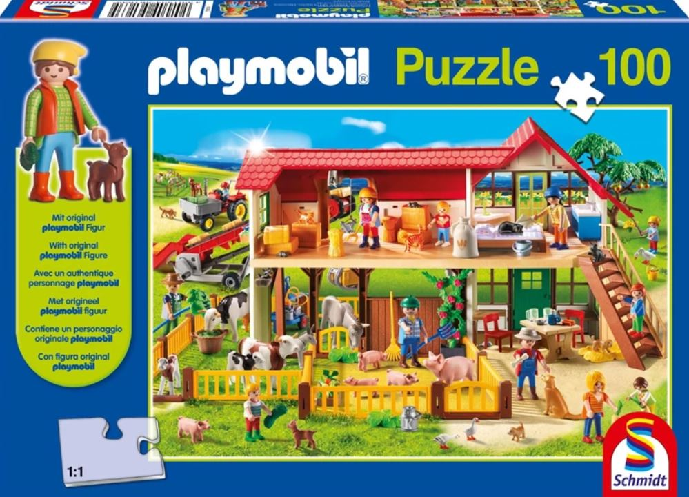 Pusle ''Playmobil Farm'' 100tk