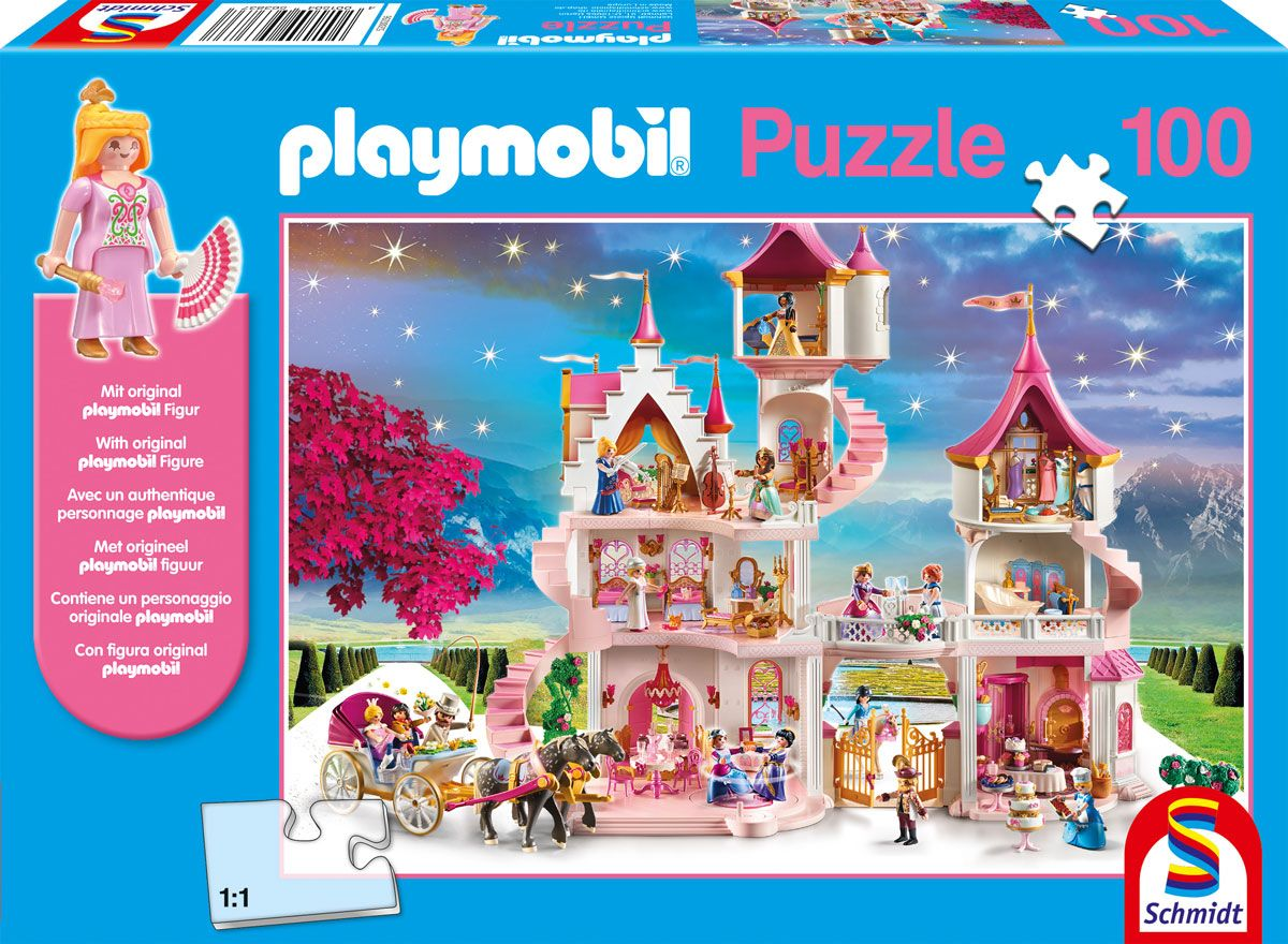 "Pusle ""Playmobil, Princess castle"" 100 tk"