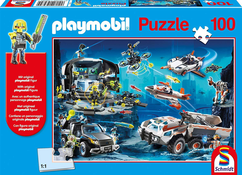 Pusle ''Playmobil Salaagendid'' 100tk