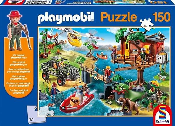 Pusle ''Playmobile, Puumaja'' 150tk
