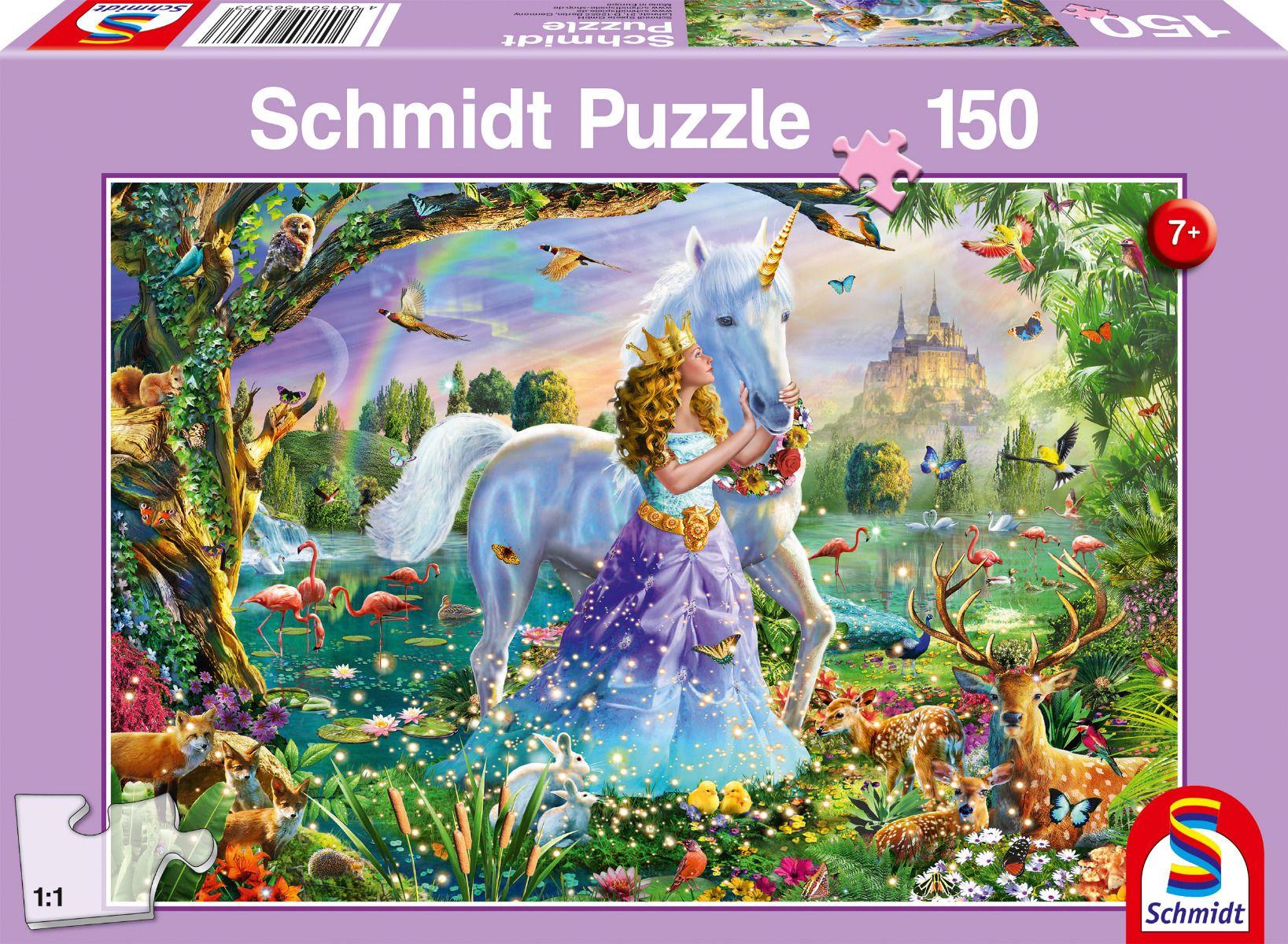 "Pusle ""Princess, Unicorn and Castle"" 150 tk"