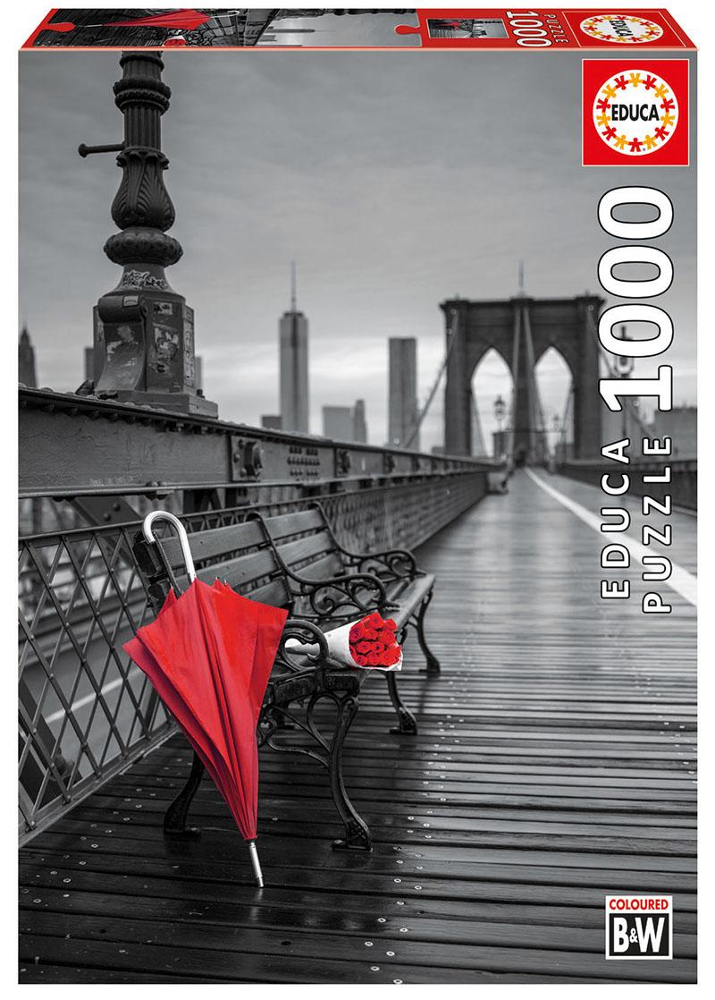 "Pusle ""Red Umbrella Brooklyn Bridge"" 1000 tk"