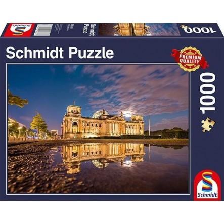 """Pusle """"Reichstag, Berlin"""" 1000 tk"""