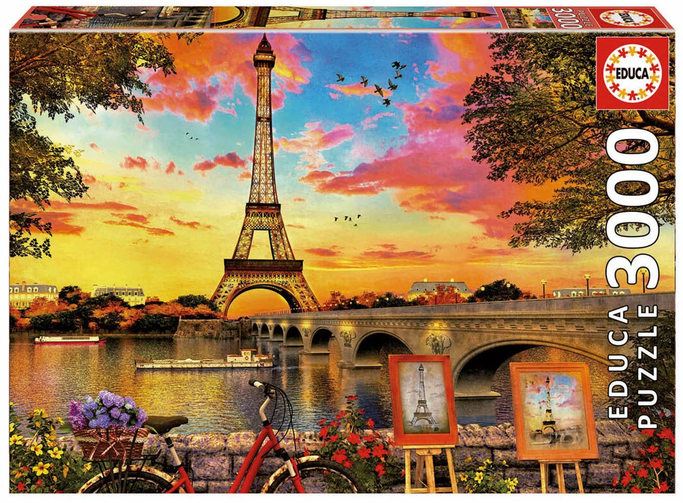"Pusle ""SUNSET IN PARIS"" 3000 tk"