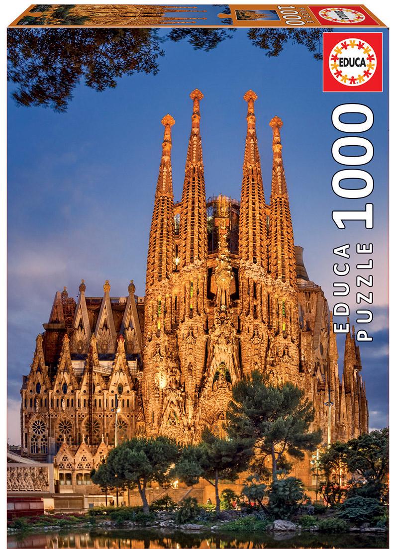 "Pusle ""Sagrada Familia"" 1000 tk"
