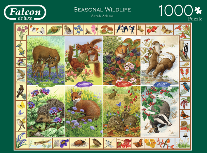 "Pusle ""Seasonal Wildlife"" 1000 tk"