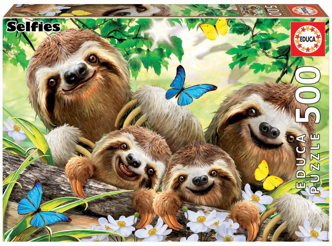"""Pusle """"Sloth Family Selfie"""" 500 tk"""