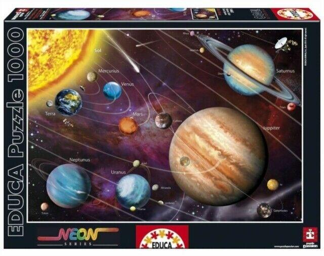 "Pusle ""Solar System NEON"" 1000 tk"