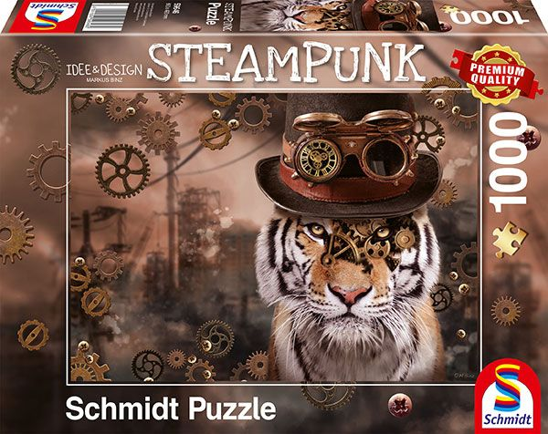Steampunk tiger