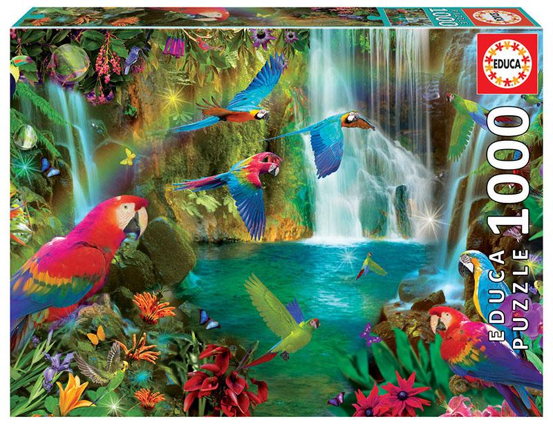 "Pusle ""Tropical Parrots"" 1000 tk"