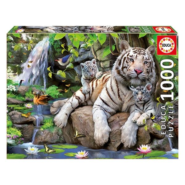 "Pusle ""Valge Bengali tiigripere"" 1000tk"