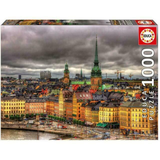 """Pusle """"Views of Stockholm, Sweden"""" 1000 tk"""
