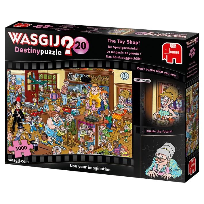 Pusle ''Wasgij Destiny 20 The Toy Shop'' -1000tk